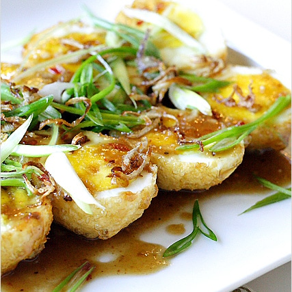 Thai Recipe: Son-In-Law Eggs