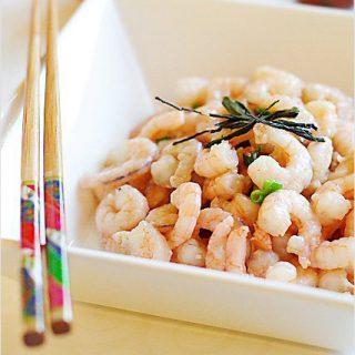 Dragon Well Tea Shrimp