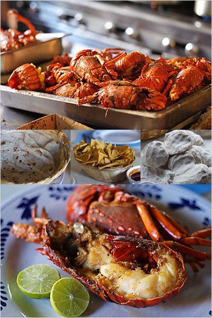 Lobsters in Puerto Nuevo