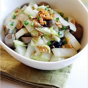 Stir-fried Napa Cabbage