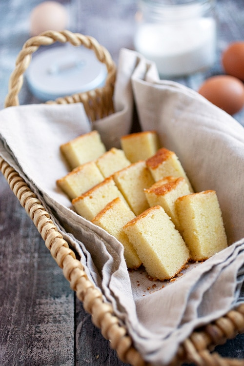 The best and easiest butter cake recipe from scratch with delicious butter cake, ready to serve.