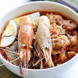 Malaysian Prawn Noodles