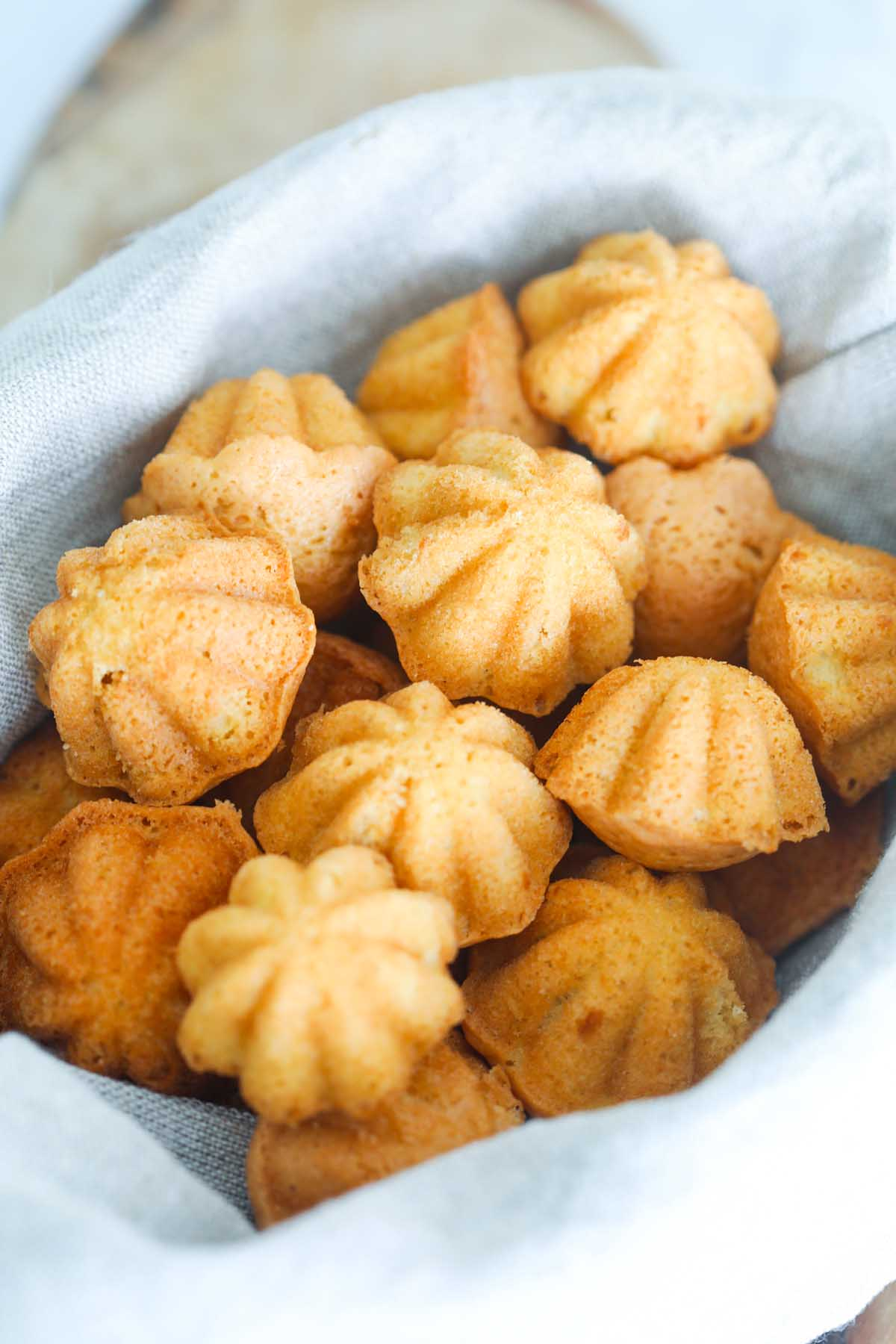 Easy Malaysian kuih bahulu recipe.
