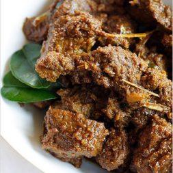Beef Rendang (Rendang Daging)