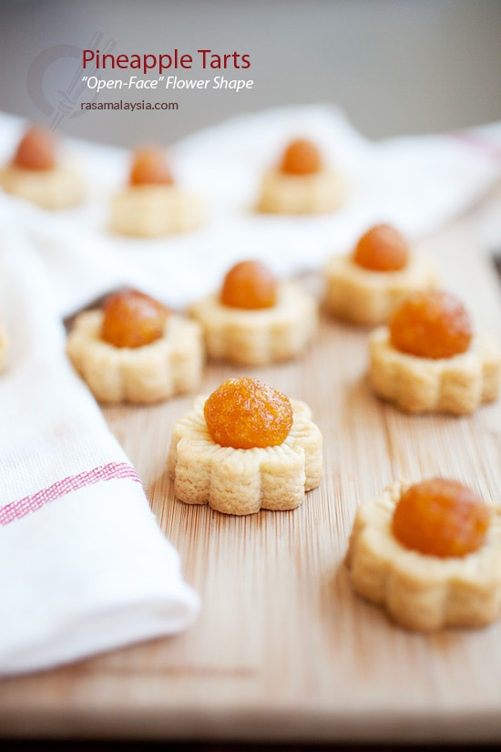 Pineapple tarts. Pineapple tarts are very popular during festive seasons in Malaysia and Singapore. Flaky, buttery, and best pineapple tarts. | rasamalaysia.com