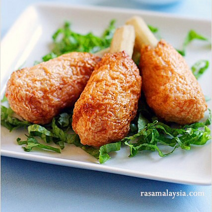 Vietnamese Sugar Cane Shrimp (Chao Tom)