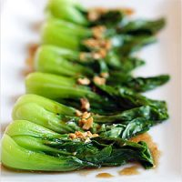 Restaurant-style Chinese Greens with Oyster Sauce