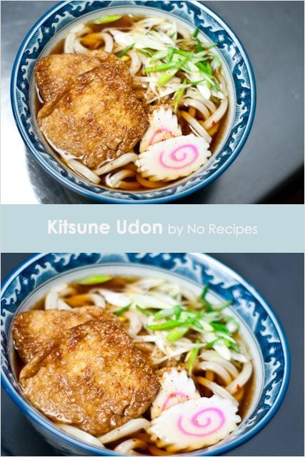 Japanese udon and udon recipe plus how to make kitsune udon and dashi. Learn how to make Japanese udon with this step-by-step udon recipe. With pictures. | rasamalaysia.com