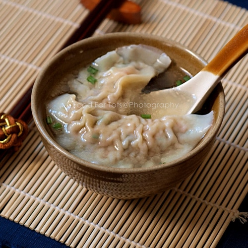 Learn how to make sui kow (Chinese dumplings) with this easy step-by-step sui kow (dumplings) recipe. Authentic sui kow recipe that is sure to please. | rasamalaysia.com