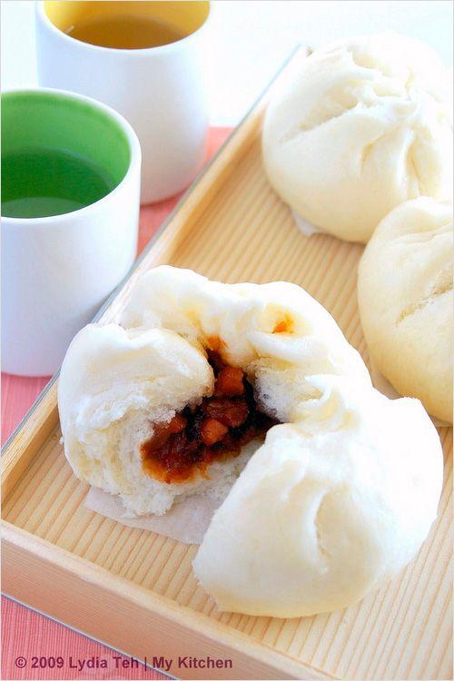 Char Siew Bao (Chinese Roast Pork Bun/叉烧包) - you can make these from scratch!   rasamalaysia.com