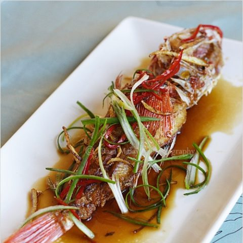 Fried Fish with Soy Sauce Recipe