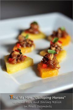 Thai Minced Pork and Shrimp Relish (Ma Haw) | Easy ...