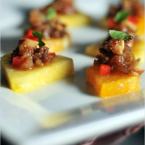 Thai Minced Pork and Shrimp Relish = Thai cuisine has a long tradition ...