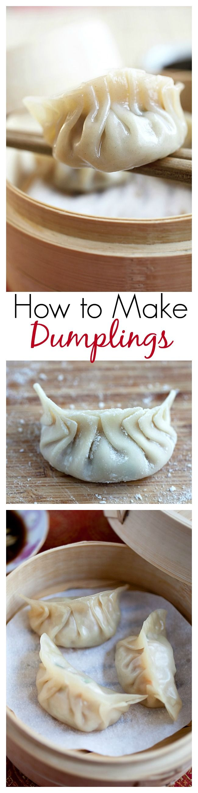 Steamed Dumplings Healthy Chinese Recipe Rasa Malaysia