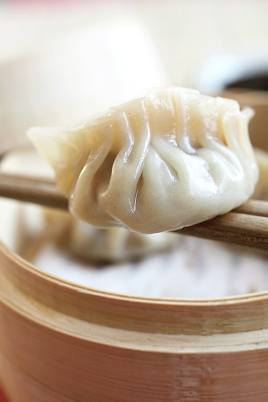 Recipe for chinese pork dumplings steamed