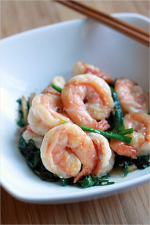 How to make shrimps crunchy? This is the technique to treat shrimps and make them crunchy, bouncy and firm, just like the ones in Chinese restaurants. | rasamalaysia.com