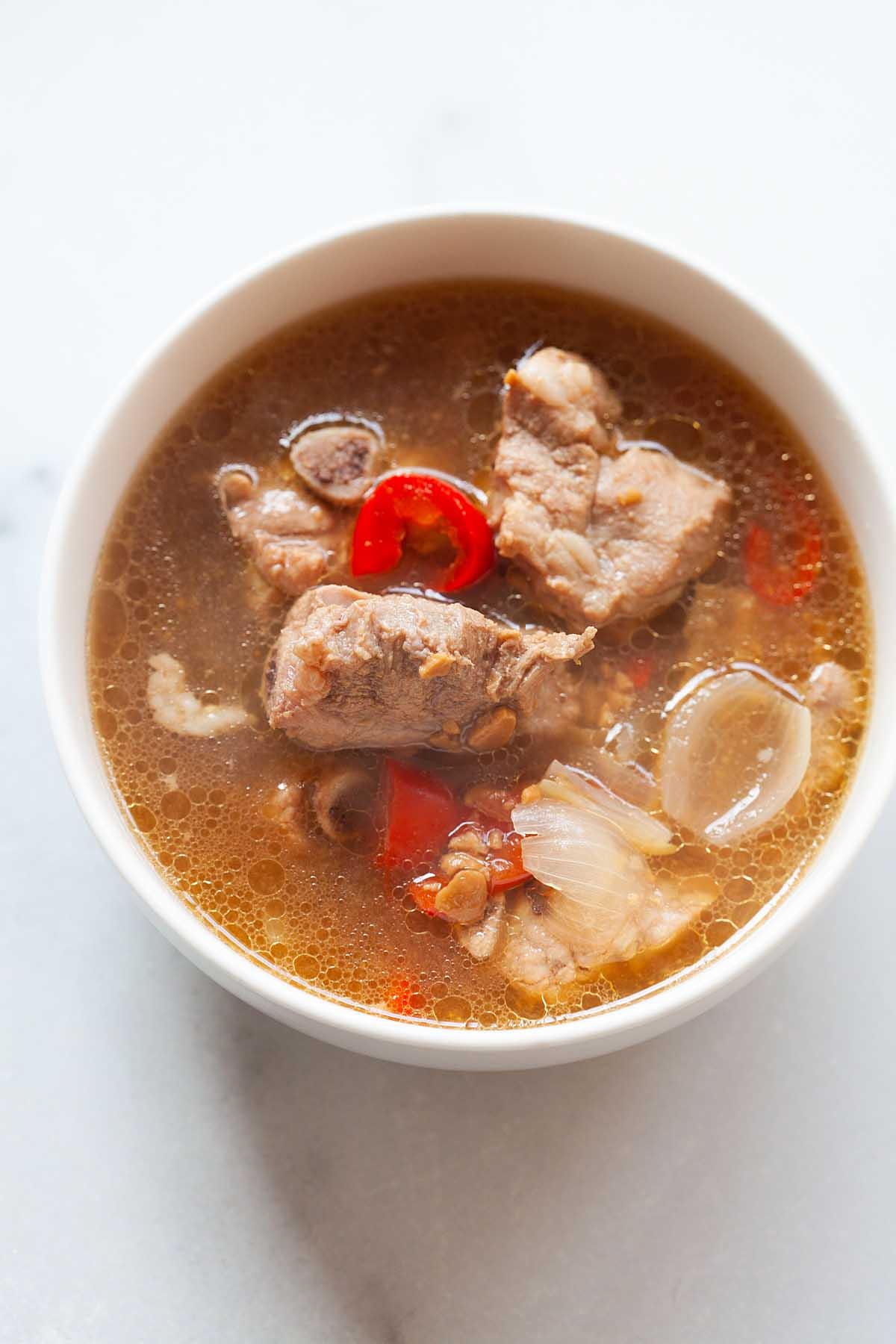 easy recipe Nyonya stewed pork ribs.