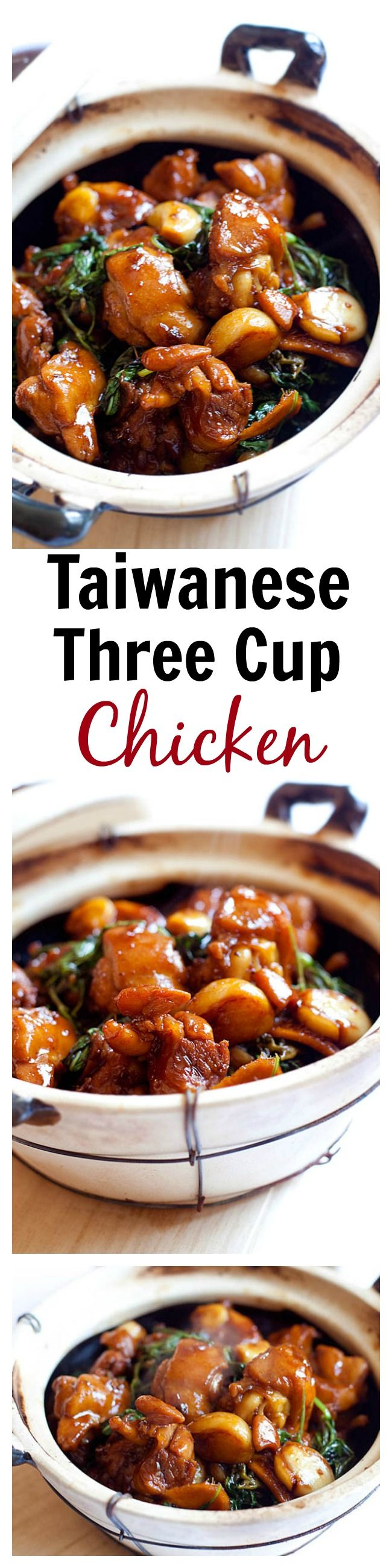 Three Cup Chicken | Easy Delicious Recipes