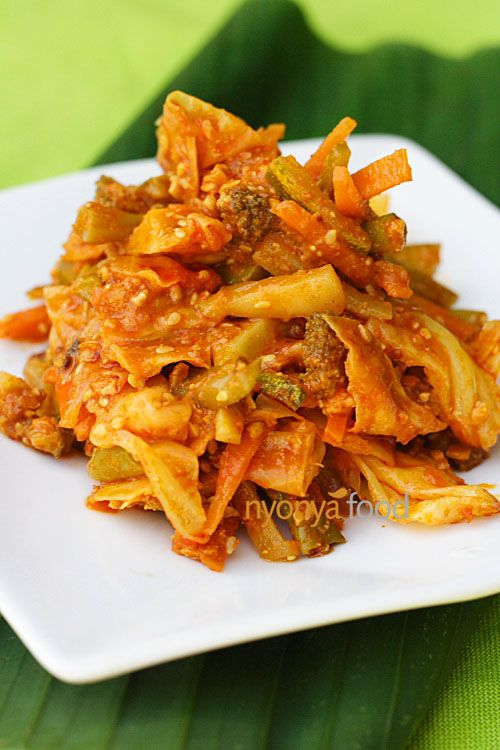 Acar Awak  Recipe (Nyonya Spicy Mixed Vegetable Pickle)   rasamalaysia.com