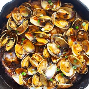curry clams
