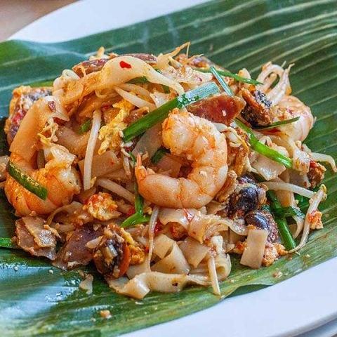 Penang Fried Flat Noodles