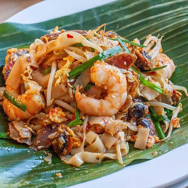 Penang Fried Flat Noodles - Char Kuey Teow - Rasa Malaysia
