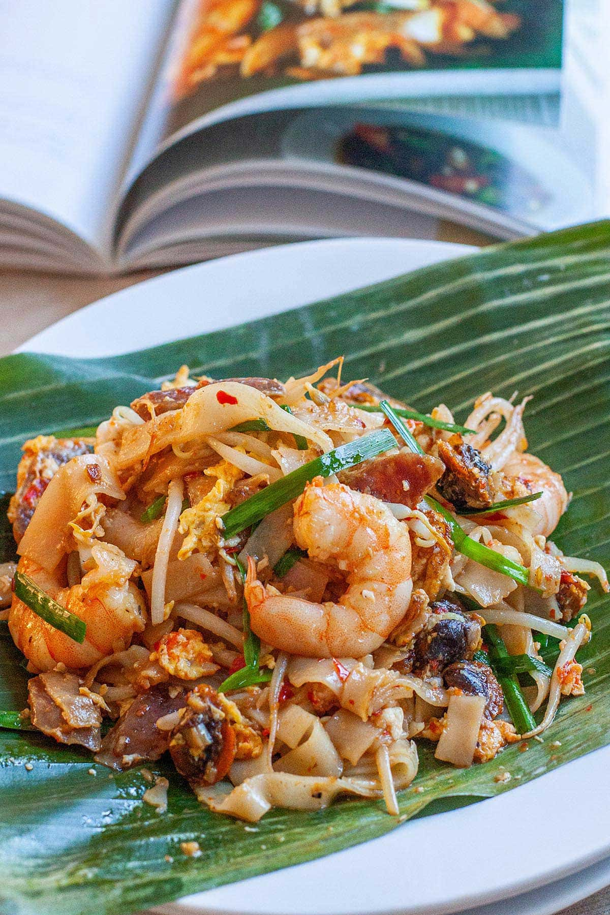 Authentic Penang Char Kuey Teow with step-by-step recipe guide. Char Kuey Teow is a famous Penang hawker food. The best Char Kuey Teow recipe on the web.   rasamalaysia.com