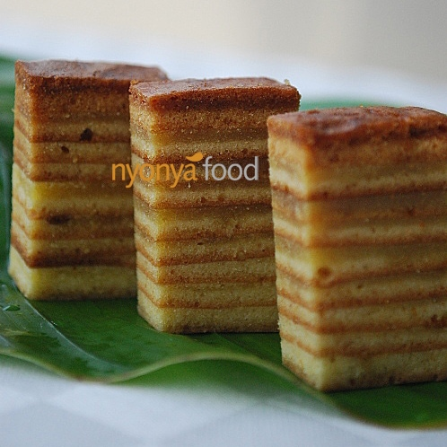 Indonesian Layer Cake (Kek Lapis)