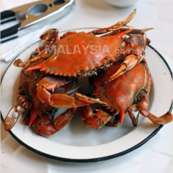 Baked Blue Crab