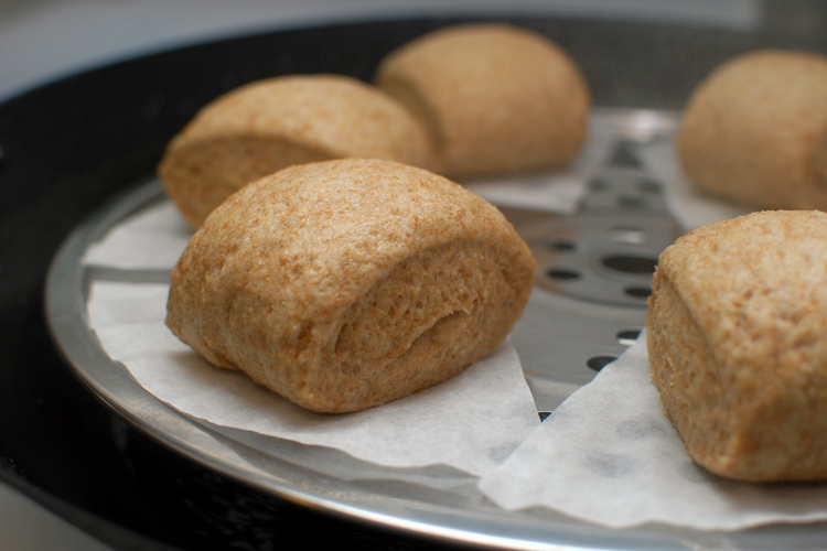 how to make chinese buns white