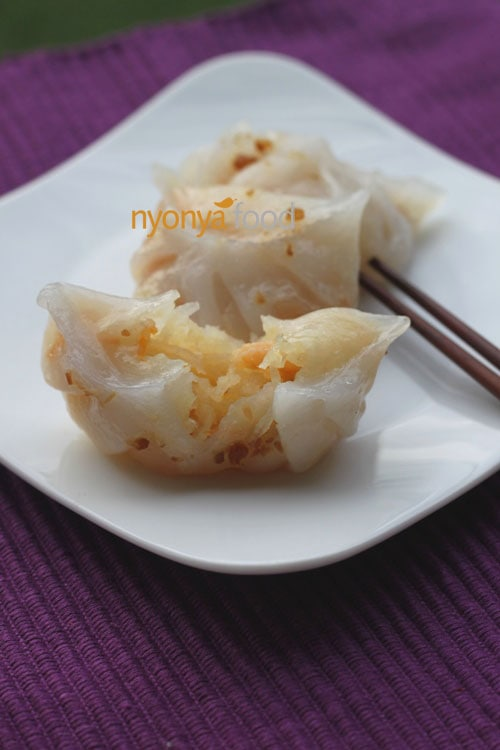 Chai Kueh (Steamed Vegetable Dumplings) | Easy Asian Recipes | rasamalaysia.com