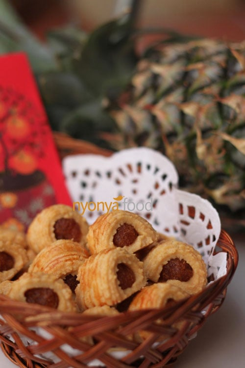 Nastar (Pineapple Rolls) for Raya | rasamalaysia.com