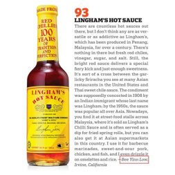 My Article on Saveur 100 (Lingham's Hot Sauce)