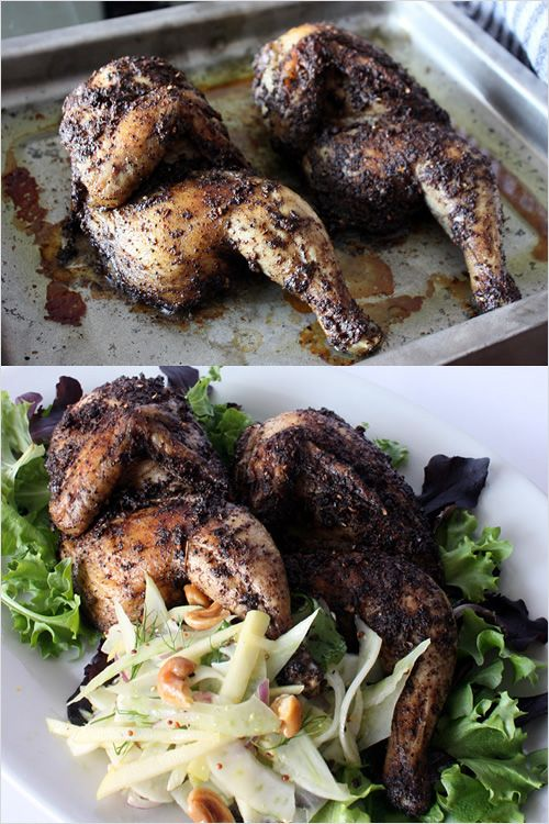 Szechuan/Sichuan Roasted Chicken: Chicken is one of those food that is a must during our reunion dinner because it symbolizes prosperity and wholeness. | rasamalaysia.com