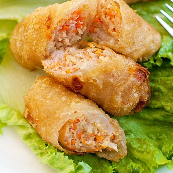 Vietnamese Spring Rolls Easy Delicious RecipesVietnamese Fried Spring Rolls
