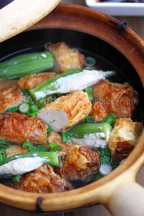 Clay Pot Yong Tow Foo (Yong Tau Foo) | rasamalaysia.com