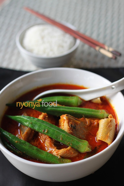 Gulai Tumis is a hot and sour curry which is traditionally famous among the Nyonya and Hainanese households in Malaysia. | rasamalaysia.com