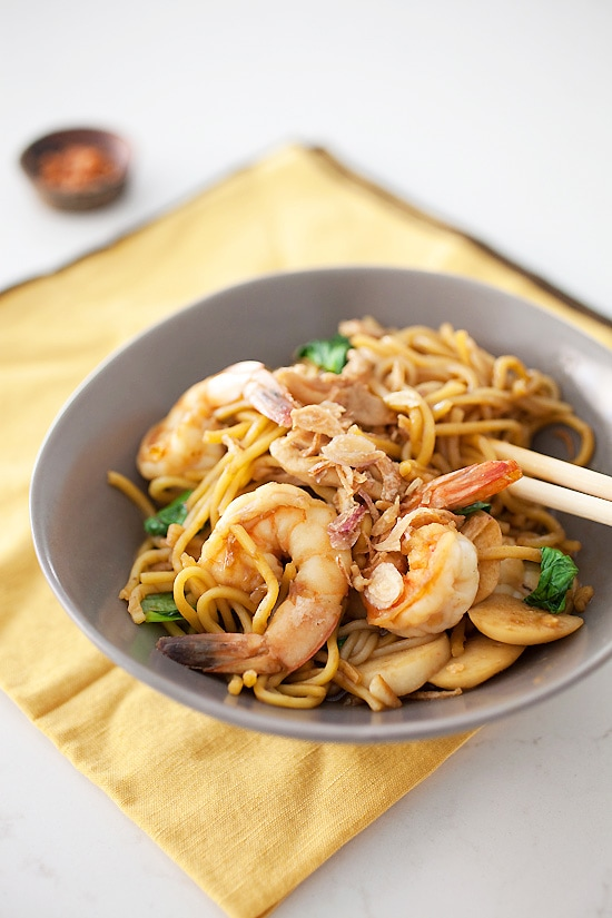 Penang Hokkien Char Noodles recipe | rasamalaysia.com