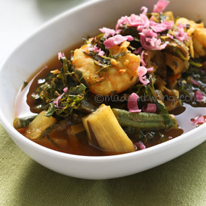Stewed Fish Stomach with Vegetables