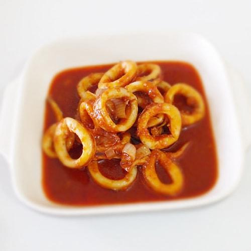 Squid Sambal (Sambal Tumis Sotong)