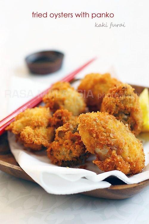 Fried Oysters With Panko Rasa Malaysia