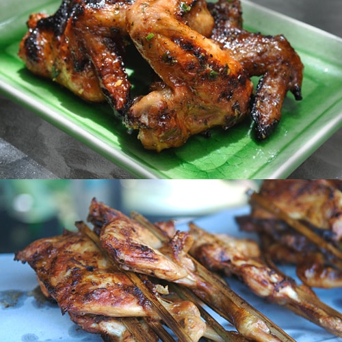 ... glazed wings glazed wings glazed wings tamarind and dark beer glazed