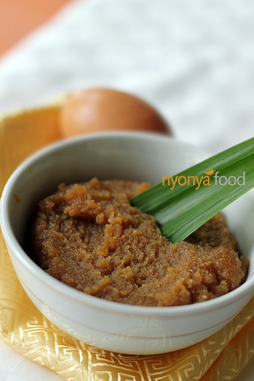 Kaya (Nyonya Coconut and Egg Jam) | rasamalaysia.com