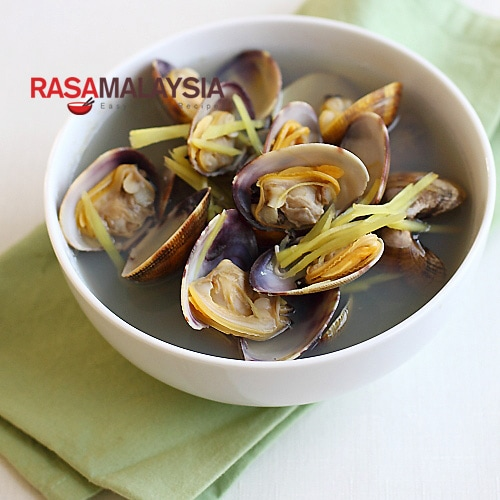 Ginger and Clam Soup (姜丝蛤蜊汤)
