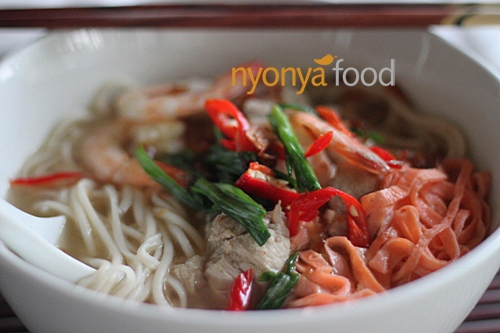 Nyonya Lam Mee Recipe | Easy Asian Recipes | rasamalaysia.com