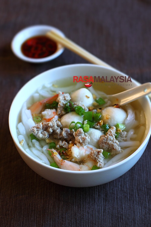 Rice Noodle Soup (Bee Thai Bak) recipe - I personally am a big fan of ...