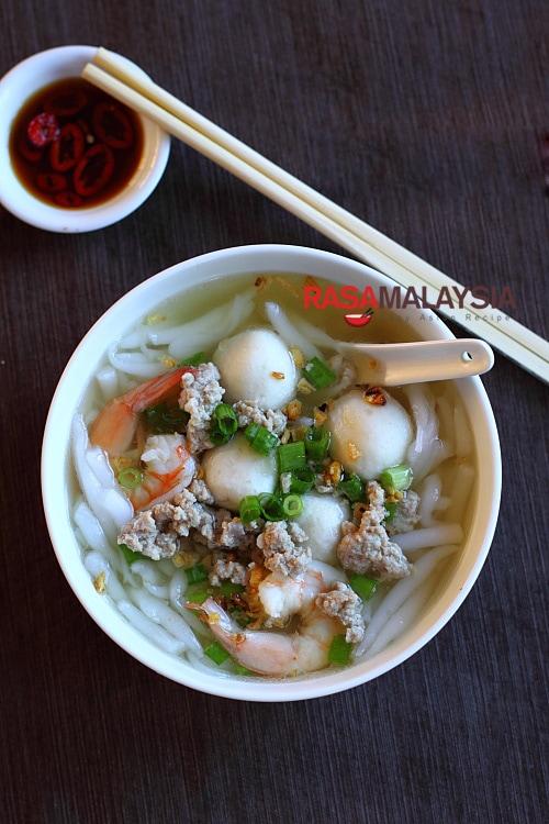 Rice Noodle Soup Bee Thai Bak Rasa Malaysia