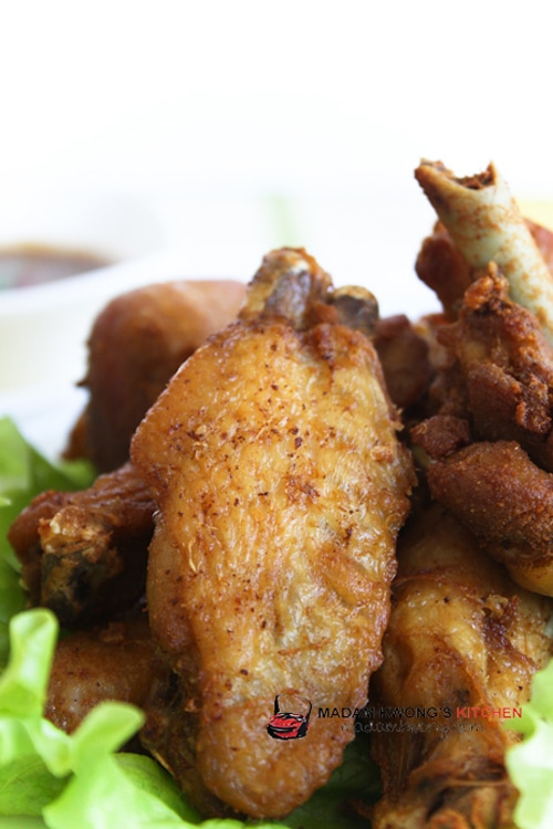 Nyonya Fried Chicken Recipe (Inchi Kabin) Recipe | rasamalaysia.com