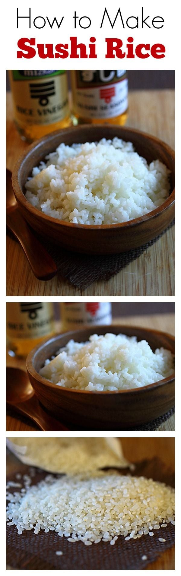 how to make sushi rice with this easy sushi rice recipe. Sushi rice ...