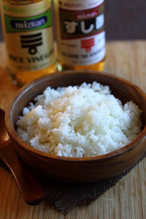 The best sushi rice recipe.